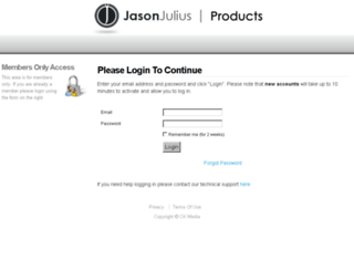 jasonjuliusproducts.com screenshot