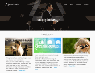 jasonkeath.com screenshot