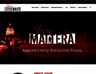 jasonmattera.com screenshot
