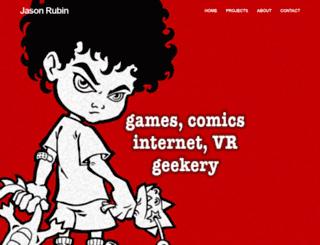 jasonrubin.com screenshot