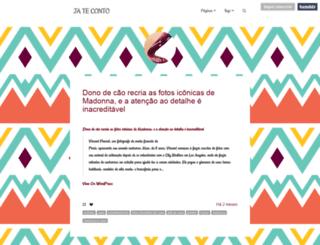 jateconto.tumblr.com screenshot