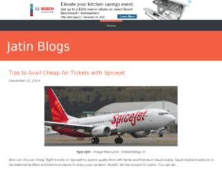 jatinblogs.bravesites.com screenshot