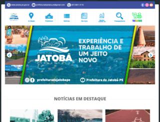 jatoba.pe.gov.br screenshot