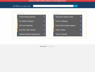 jatrix13.la100rra.com.mx screenshot