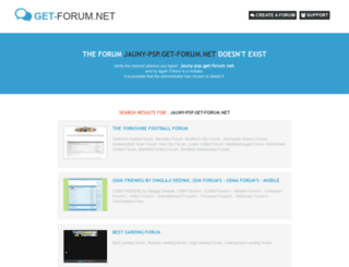 jauny-psp.get-forum.net screenshot