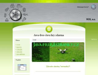 java-free.estranky.cz screenshot