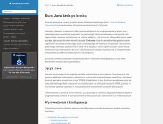 java-krok-po-kroku.readthedocs.org screenshot