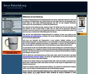 java-tutorial.org screenshot