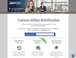 java.ciberaula.com screenshot