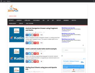 javaant.com screenshot