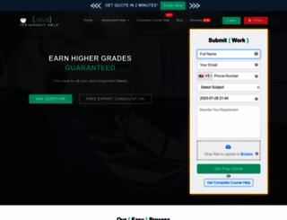 javaassignmenthelp.com screenshot
