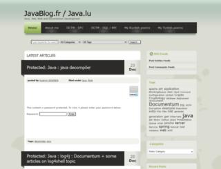 javablog.fr screenshot