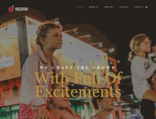 javafestivalproduction.com screenshot