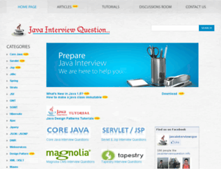 javainterviewquestion.info screenshot
