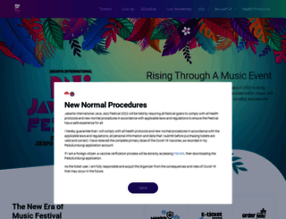 javajazzfestival.com screenshot