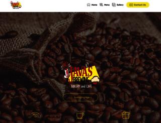 javasbrewingbakeryandcafe.com screenshot