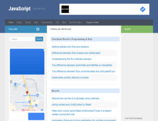 javascript.tutorialhorizon.com screenshot
