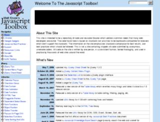 javascripttoolbox.com screenshot