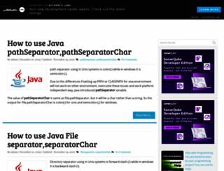 javatips.net screenshot