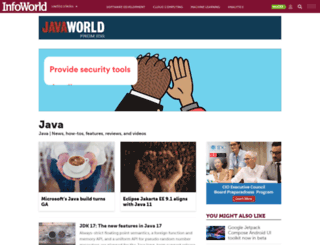 javaworld.com screenshot