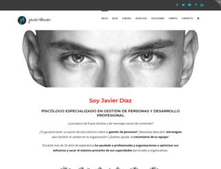 javierdisan.com screenshot