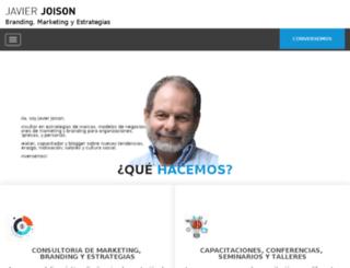 javierjoison.com screenshot