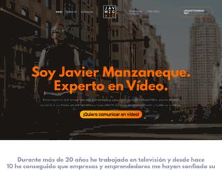 javiermanzaneque.com screenshot