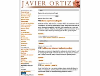 javierortiz.net screenshot