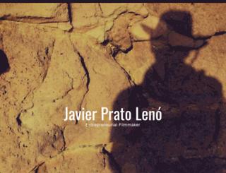 javierprato.com screenshot