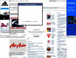 jawatan-kini.blogspot.com screenshot
