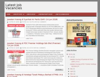 jawatan-kosong.com screenshot