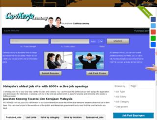 jawatankosong.com.my screenshot