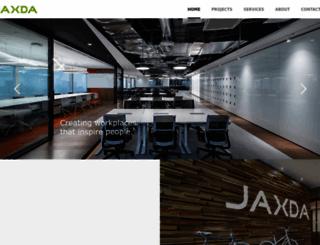 jaxda.com screenshot