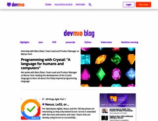 jaxenter.com screenshot