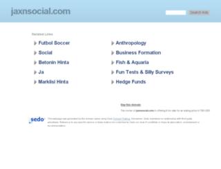jaxnsocial.com screenshot