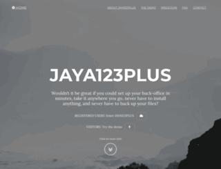 jaya123.com screenshot