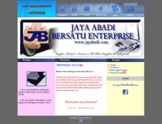 jayabadi.com screenshot
