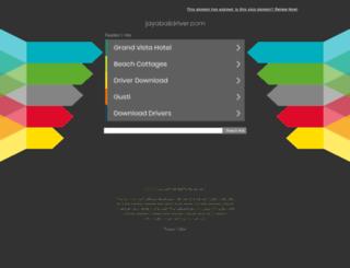jayabalidriver.com screenshot