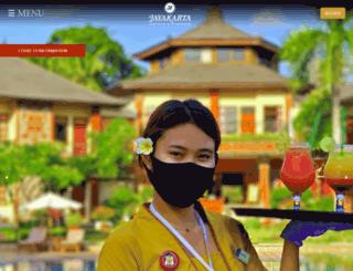 jayakartahotelsresorts.com screenshot
