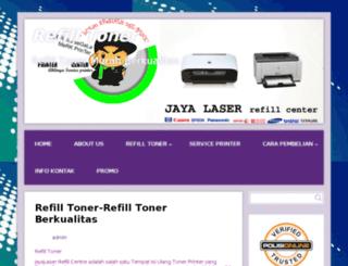 jayalaser.com screenshot