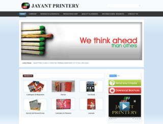 jayantprintery.com screenshot