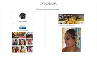 jayaprada.in screenshot