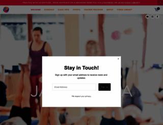 jayayogacenter.com screenshot