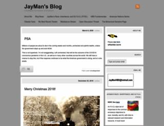 jaymans.wordpress.com screenshot