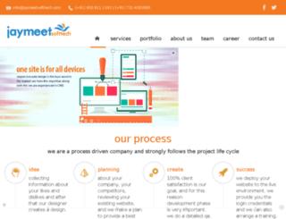 jaymeetsofttech.com screenshot