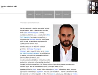 jaymichaelson.net screenshot