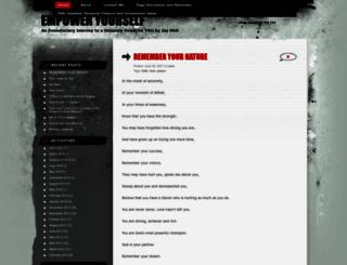 jaymoli.wordpress.com screenshot