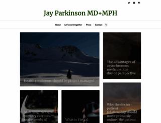 jayparkinsonmd.com screenshot