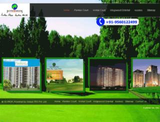 jaypeegreen.co.in screenshot