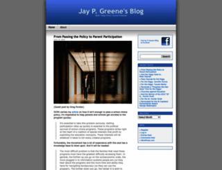 jaypgreene.com screenshot